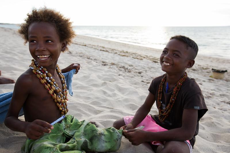 Anakao - Vezo children