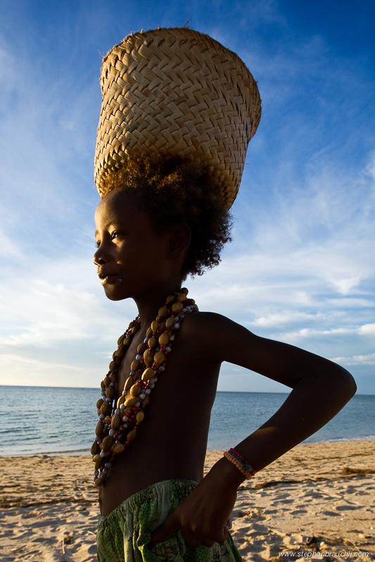Anakao - Vezo girl portrait