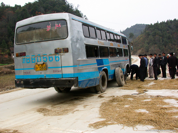 Sleeper Bus - China