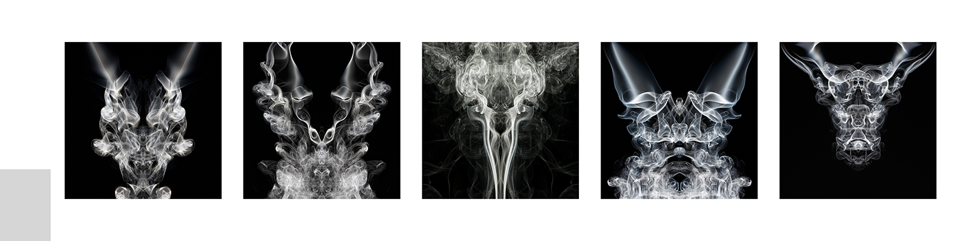 Smoke Creatures as exhibited at photo15