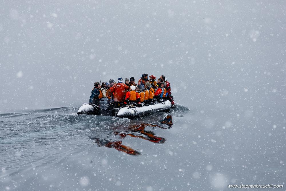 Vavilov kayakers